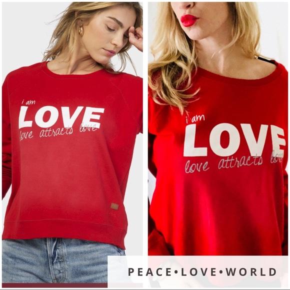 Nwt S O Online I Am Love Sweatshirt